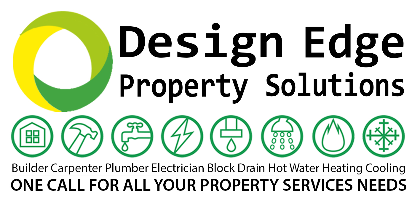 Final Design Edge Property Solutions Logo with 8 Trade Logos